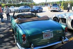 Classic aston martin convertible Stock Photo