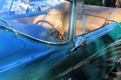 Classic aston martin side detail Stock Image