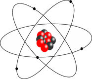 Classic atom. Illustration of a Classic atom vector illustration