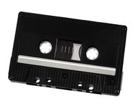 Classic audio cassette Stock Photos