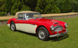 Classic Austin Healey 3000 MkII Royalty Free Stock Photography