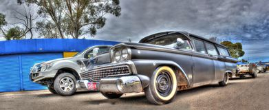 Classic Australian Ford station wagon Royalty Free Stock Images