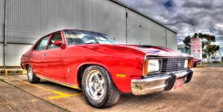 Classic Australian 1970s Ford Falcon Royalty Free Stock Image