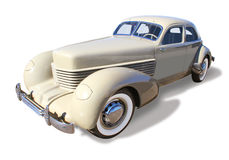 Classic Automobile, Cord- isolated Stock Photo