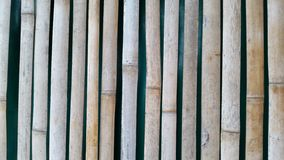 A classic bamboo wall Stock Photography