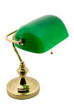 A classic bankers lamp Stock Images