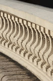 Classic bannister. Close up detail with depth of field of Classic bannister stock photos