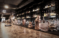Classic bar counter Stock Images