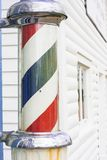 Classic Barber Shop Pole Royalty Free Stock Photos