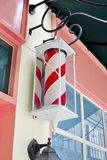 Classic Barber shop Pole Royalty Free Stock Photo
