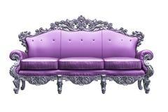 Classic Baroque armchair Stock Image