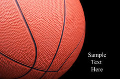 Classic basketball Royalty Free Stock Images