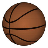 Classic basketball, vector illustration Royalty Free Stock Images