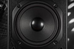 Classic bass speaker Stock Photo