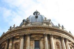 Classic Beautiful English Building, Oxford. Classic Beautiful English Building - the Bodleian Library in Oxford, UK Stock Photo