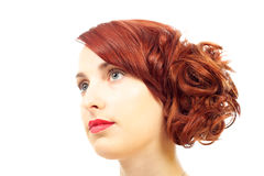 Classic beauty portrait Royalty Free Stock Image
