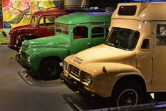 Classic Bedford vintage trucks Stock Image