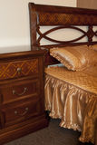 Classic bedroom furniture detail Royalty Free Stock Photo