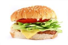 Classic Beef Burger Royalty Free Stock Photos