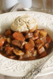 Classic beef cobbler Royalty Free Stock Photo
