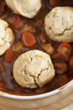 Classic beef cobbler Royalty Free Stock Photos