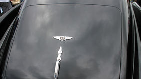 Classic bentley continental rear 2. Rear deck. Classic 1954 Bentley R-type continental luxury coupe 2 Stock Photography