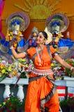 Classic Bharatanatyam Dancer Royalty Free Stock Images