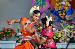 Classic Bharatanatyam Dancers Stock Photos