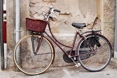 Classic bicycle Stock Photography