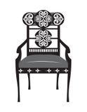 Classic biedermeier style furniture Stock Images