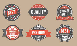 Classic Big Sale Badges Stock Photo