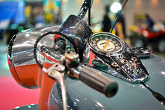 Classic Bike Dashboard Royalty Free Stock Photos