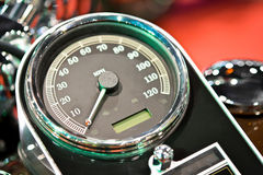 Classic Bike Dashboard Royalty Free Stock Photography
