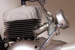 Classic bike engine Stock Photo