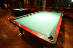 Classic billiards Royalty Free Stock Images