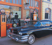 A Classic Black Buick in Lowell, Arizona Royalty Free Stock Photos