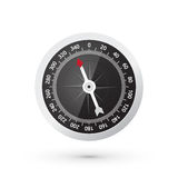 Classic black compass Royalty Free Stock Photo