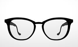 Black glasses Royalty Free Stock Image