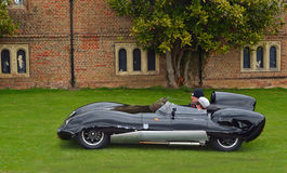Classic Black Lotus racing car i Royalty Free Stock Photos