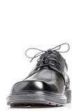 Classic black men's shoe Stock Images