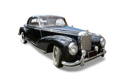 Classic black Mercedes Royalty Free Stock Photography