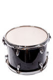 Classic black music bass drum  on white background Stock Images