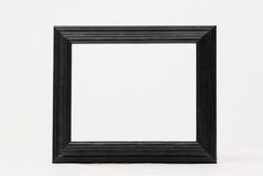 Classic black picture frame Stock Image