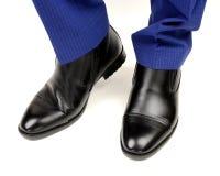 Classic black shoes for men Stock Photo