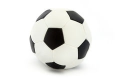 Classic black and white football Royalty Free Stock Image