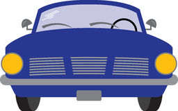 Classic Blue Car Stock Images