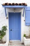 Classic Blue Door Royalty Free Stock Photo