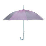 Classic blue umbrella isolated Royalty Free Stock Photo