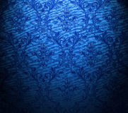 Classic blue wallpaper Stock Photography