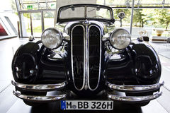 Classic BMW Car. Inside the Bmw Museum in Munich Royalty Free Stock Photo